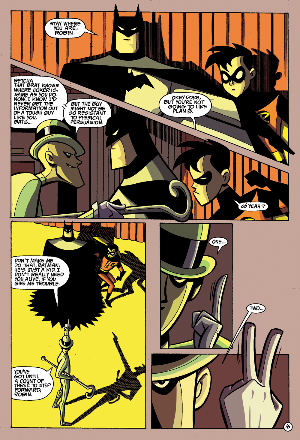 Batman: Gotham Adventures #1 Sample Page 4