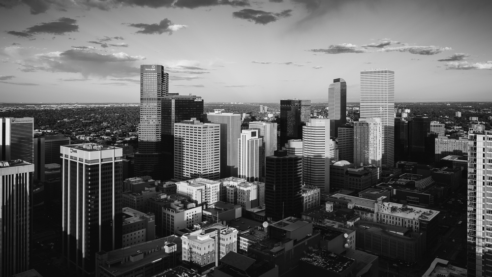 Downtown Denver Skyline © 2014 JC Buck