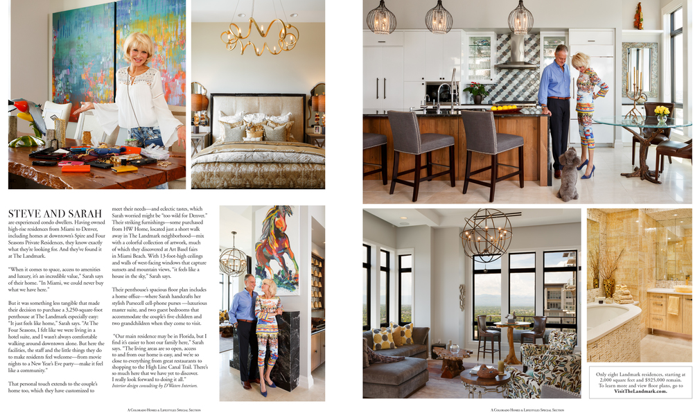 Colorado Homes & Lifestyle Magazine - Photography © 2016 JC Buck