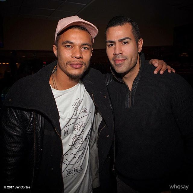 ‪With my bro @ismaelcruzcordova you'll probably recognize for his outstanding work on @showtime's @raydonovan #orgulloboricua 🇵🇷‬ #actorslife