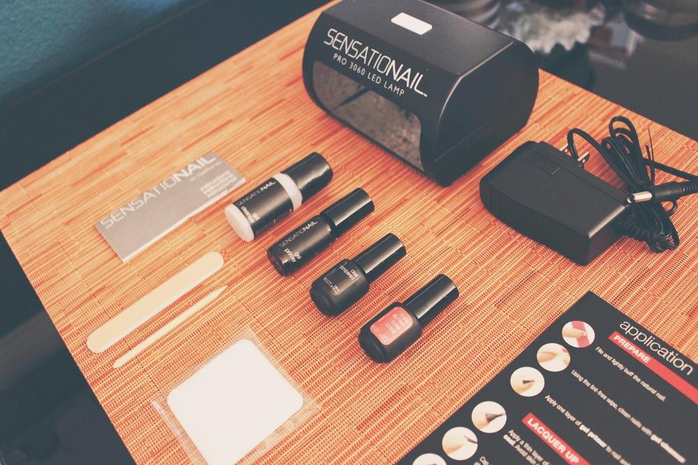 Sensationail Gel Starter Kit First Impression Review Hello