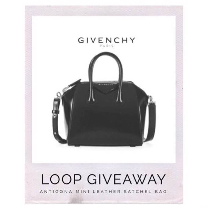 Givenchy Antigona Bag Giveaway on Instagram