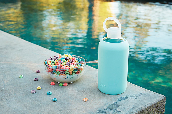 GLASS WATER BOTTLE - bkr