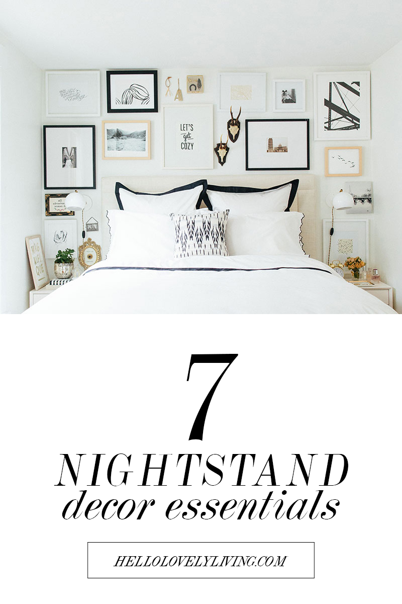 7 Nightstand Decor Essentials