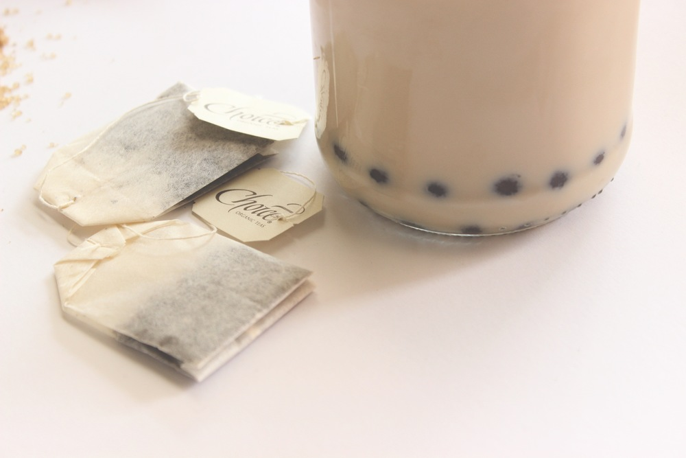 Royal Milk Tea with Boba