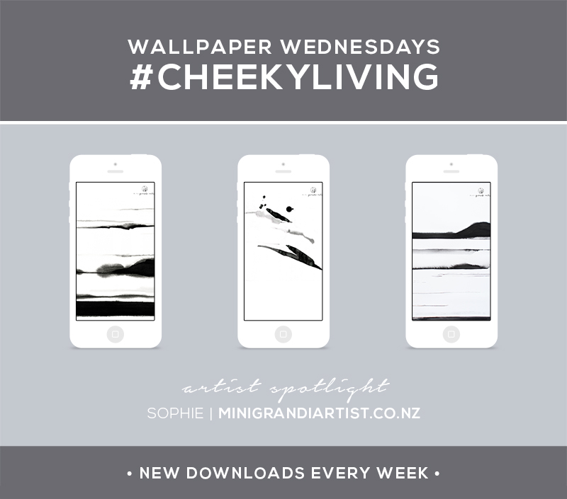 Wallpaper Wednesdays 5 | Mini Grandi Artist