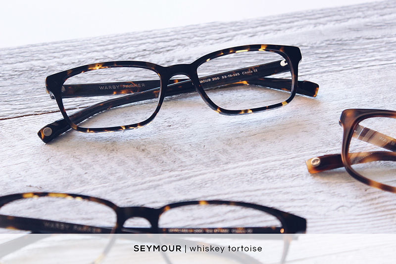 Warby Parker Seymour - Whiskey Tortoise | HelloLovelyLiving.com