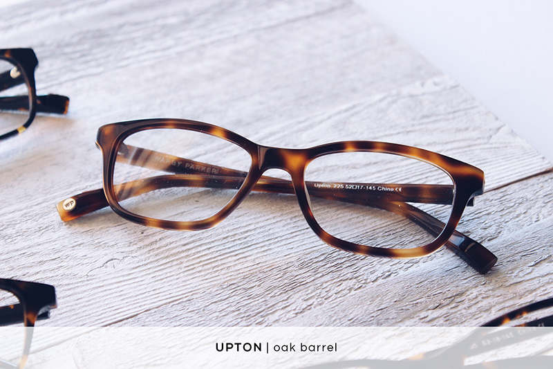 Warby Parker Upton - Oak Barrel | HelloLovelyLiving.com