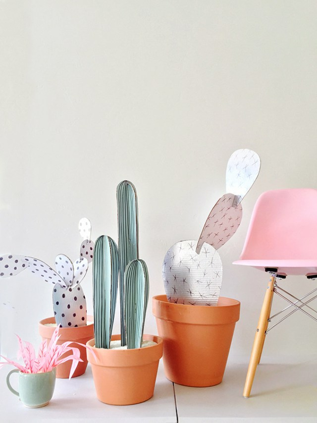 Cute Cactus Crafts For the Cactus Obsessed