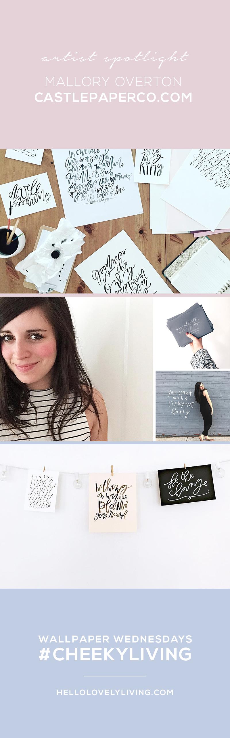 Wallpapers Wednesdays 31 | Artist Feature - Mallory Overton
