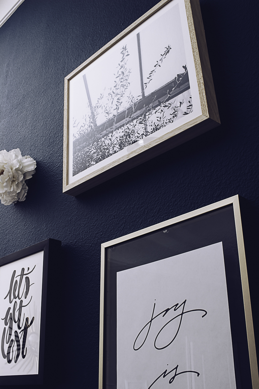 HelloLovelyLiving.com | Gallery Wall + Minted Custom Art Prints