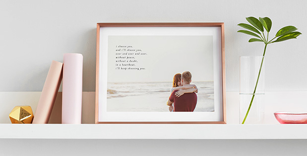 HelloLovelyLiving.com | Minted Minimalist Quote Keepsake