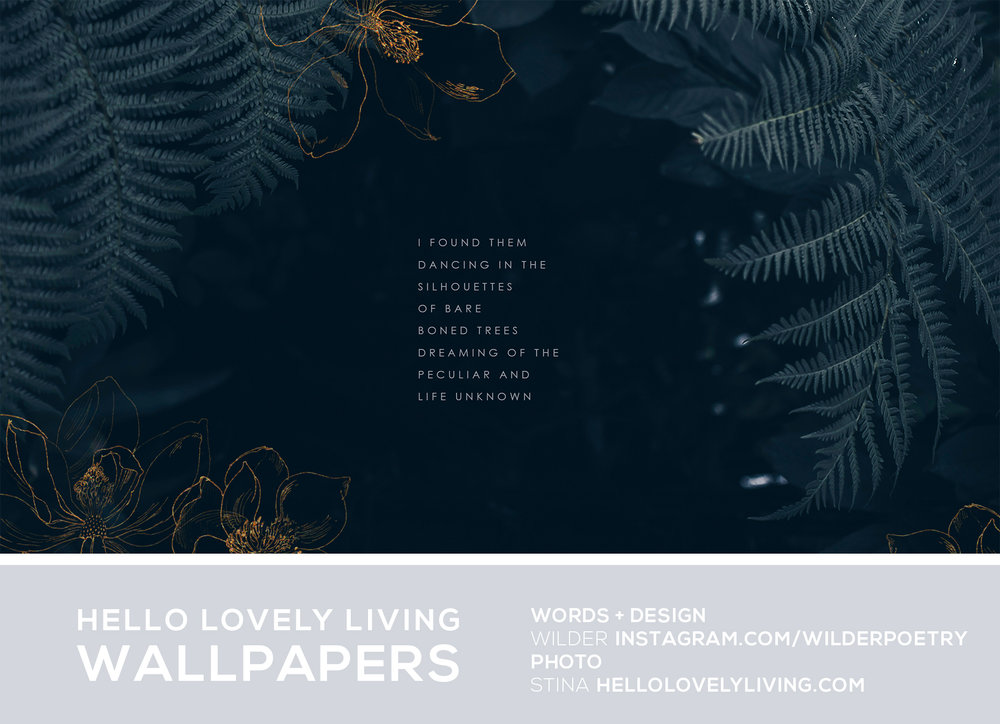 Free Wallpapers For Your Desktop + Phone | HelloLovelyLiving.com