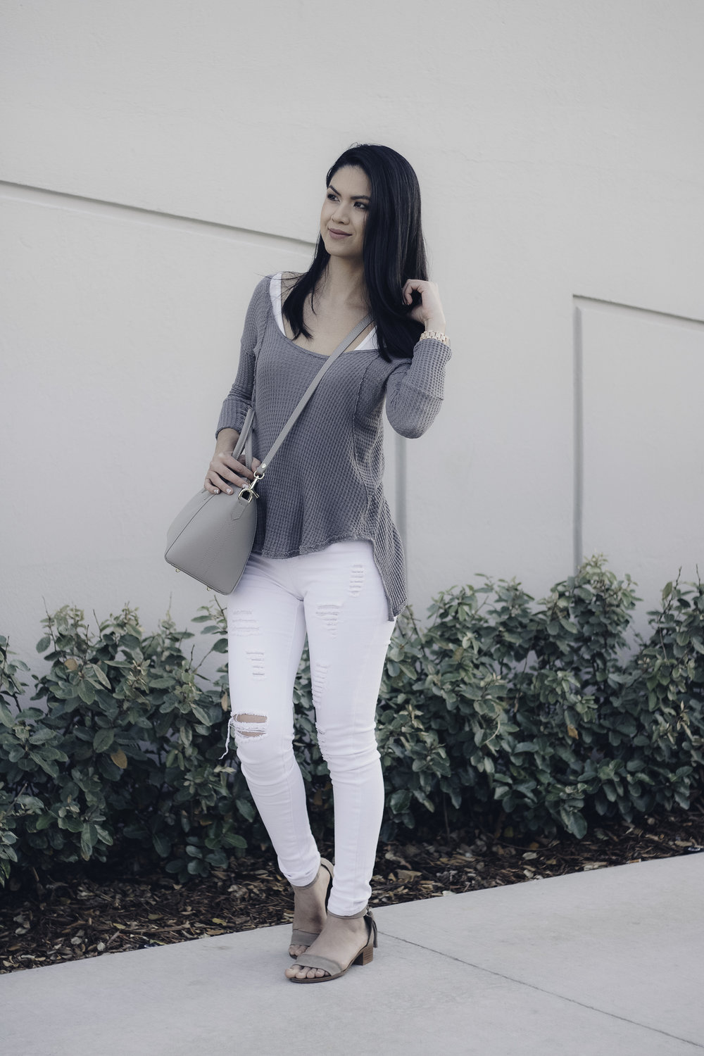 HelloLovelyLiving.com | Jord Wood Watches | Stina is wearing Fieldcrest in Maple