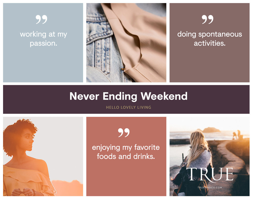 hellolovelyliving.com | The Never-Ending Weekend