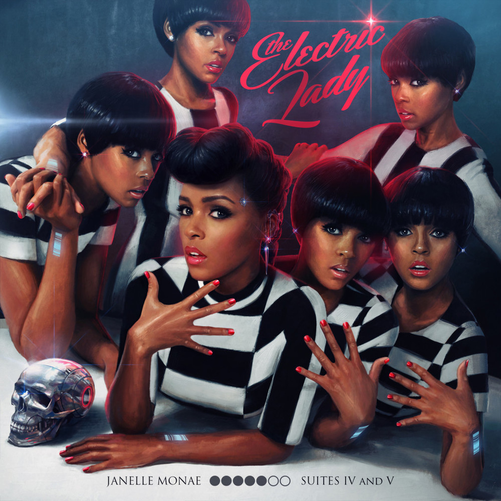 JANELLE MONAE-THE ELECTRIC LADY