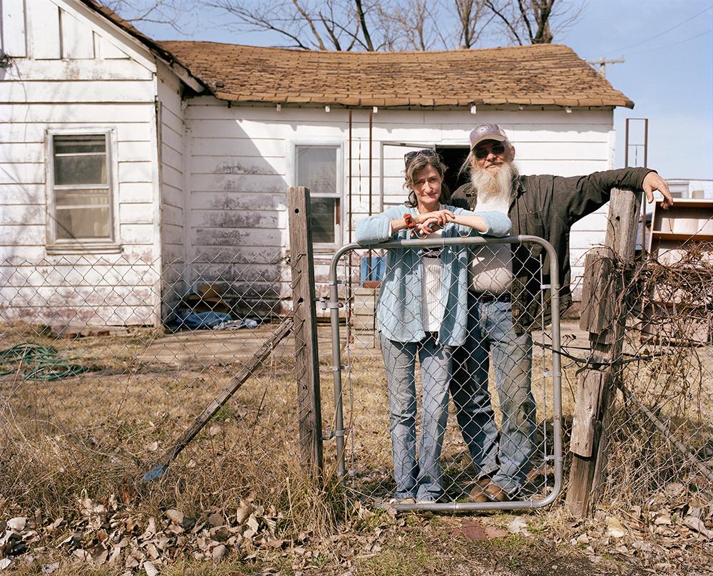 Vickie & Clyde, Treece, KS, 2011