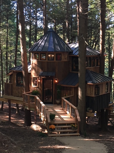 A roof we did that was featured in Tree House Masters premier show.