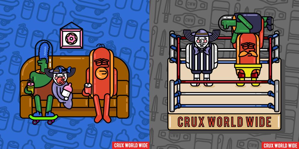 left: Any Given Sunday - right: Monday Night Raw