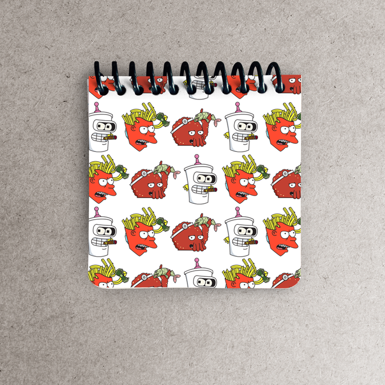 Aqua teen future hungerama force notepad