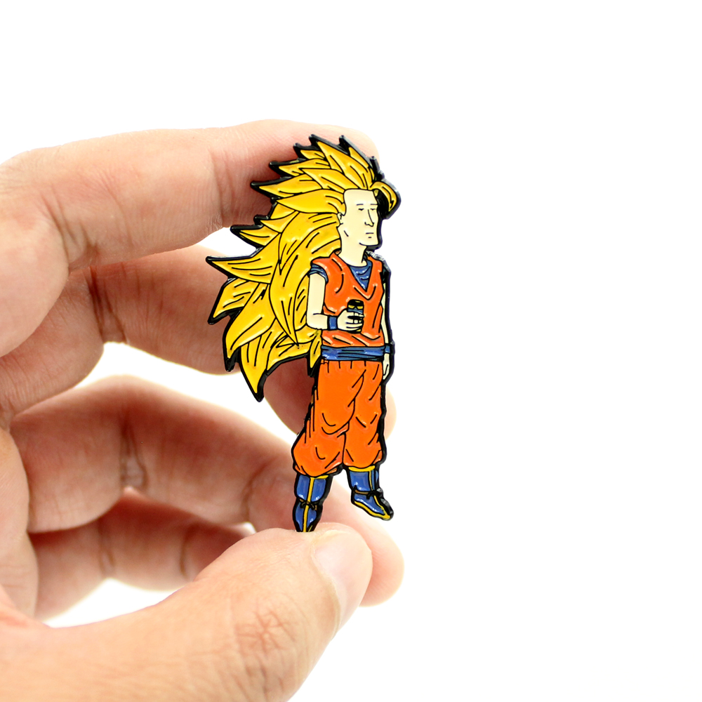 2 Inch tall (50.8 mm) Enamel Lapel Pin