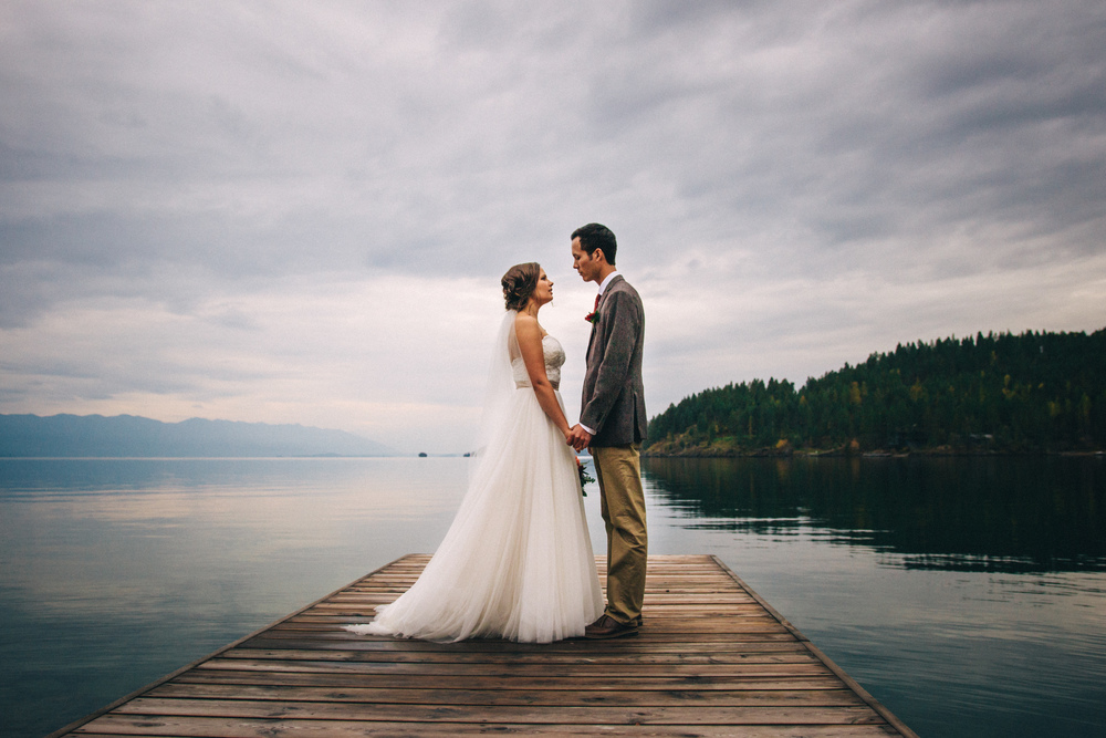 Wedding Photography on Flathead Lake, Montana