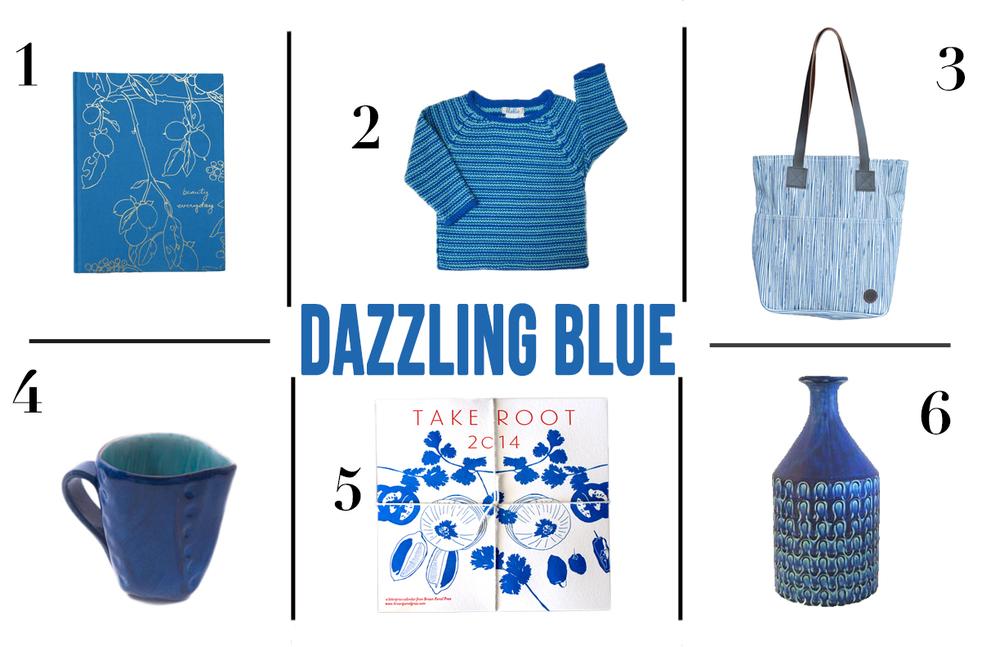 DAZZLING BLUE ROUNDUP