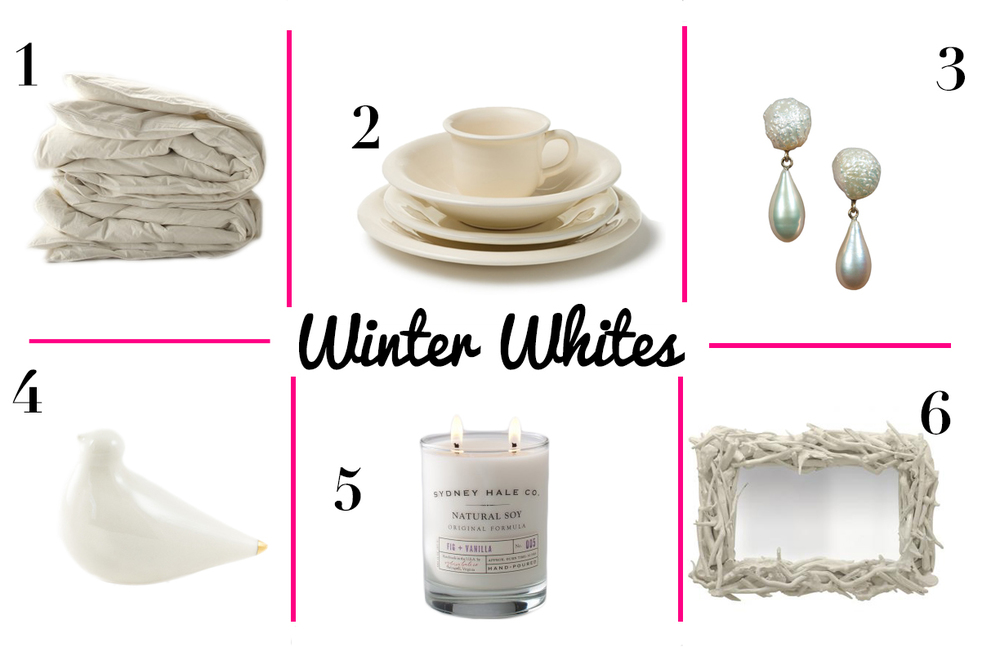 WINTER WHITES ROUNDUP
