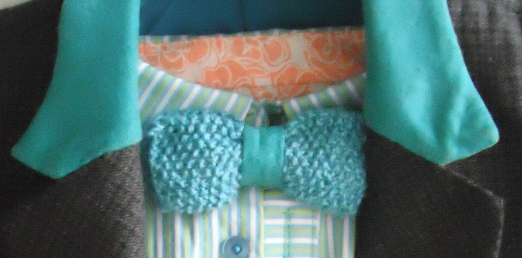 bowtie - teal hemp and suede - 002a.JPG