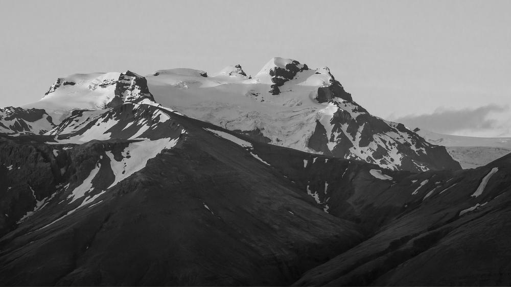 Iceland's tallest peak, Hvannadalshnukur.