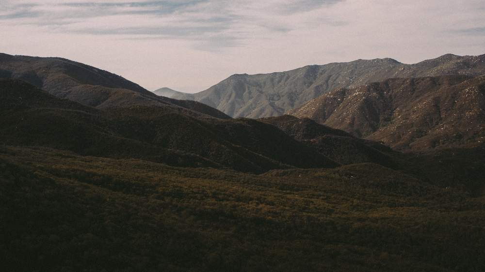 A view across the San Mateo Wilderness, one of my favorite local haunts.