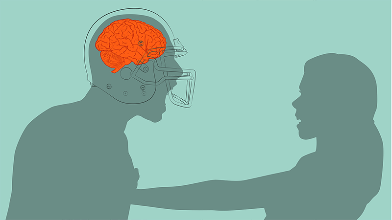 Can Concussions Lead to Rape?