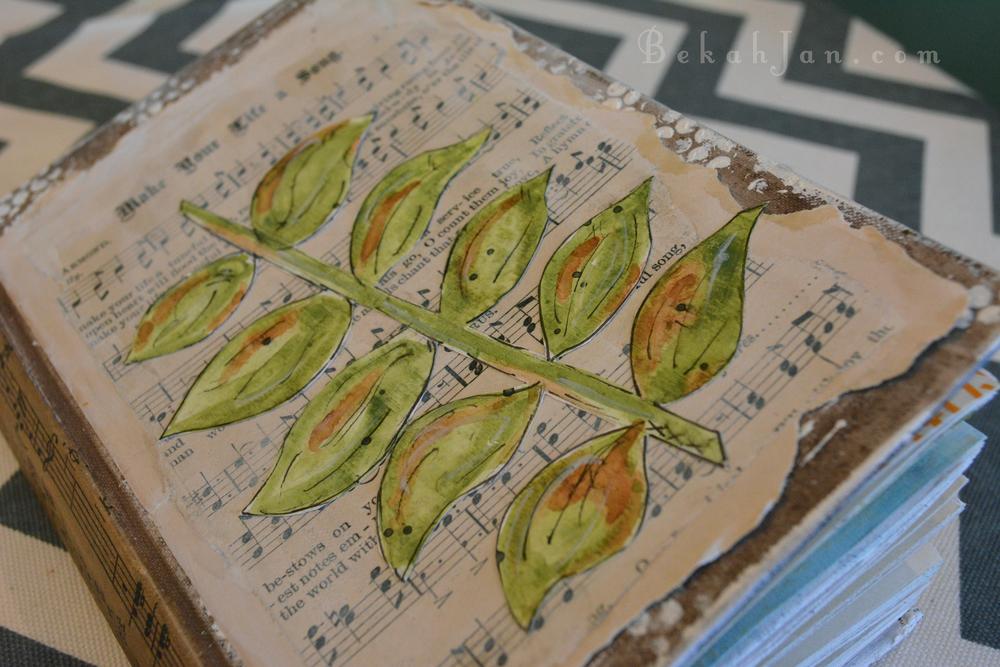 Nature Art Journal - Inspiration by Junelle Jacobsen