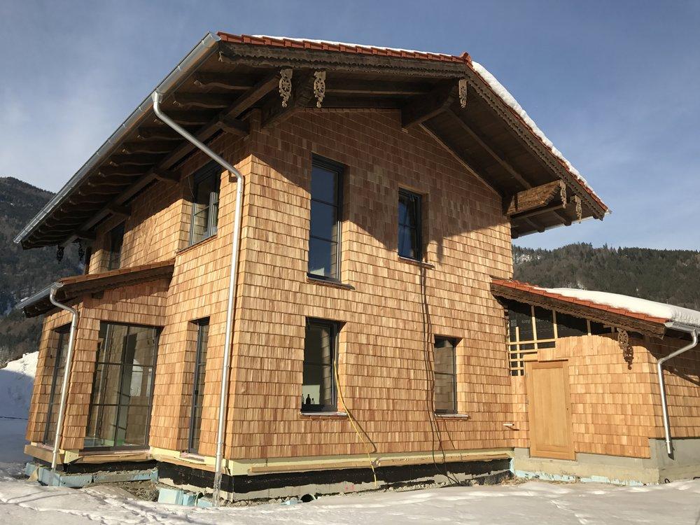Einfamilienhaus in Schleching BJ 2016
