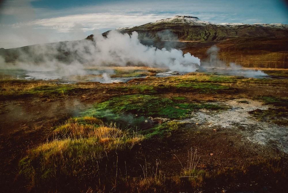 Geyser Park, Iceland. Nikon D60 | 18-105mm | F/3.5 - 1/160th - iso200