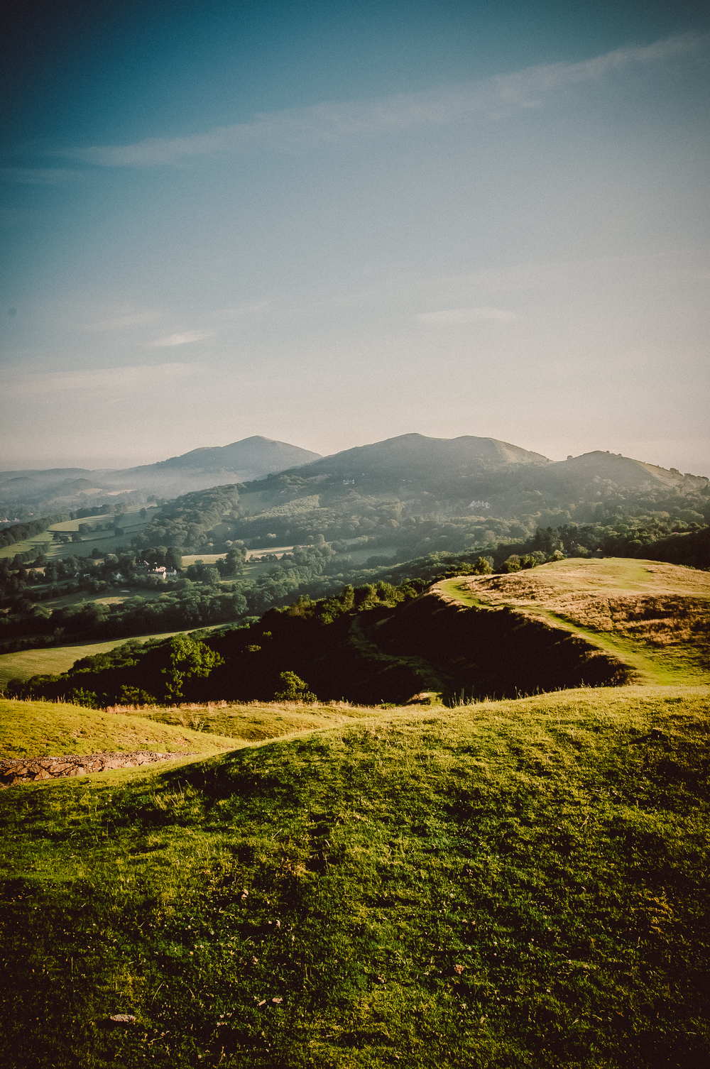 Malvern hills, Worcestershire. Nikon D300 | 18-50mm | F11 - 1/125th - iso200
