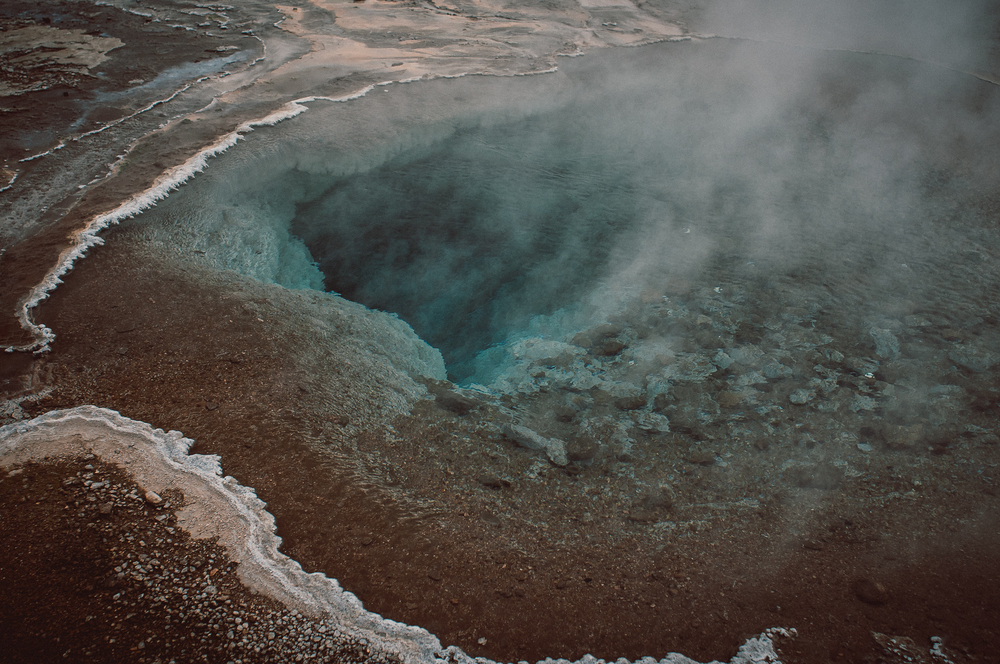 Hot pools, Geyser park, Iceland.  Nikon D90 | 24mm | F4.5 - 1/400th - iso320