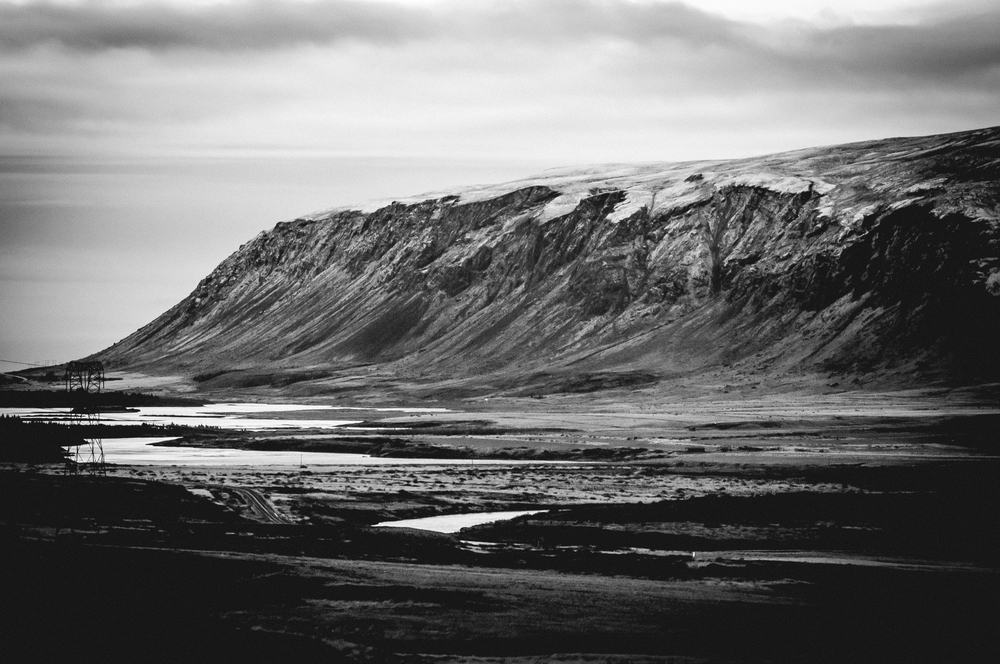The view from our cabin, Iceland.  Nikon D90 | 135mm | F5.6 - 1/3rd - iso640