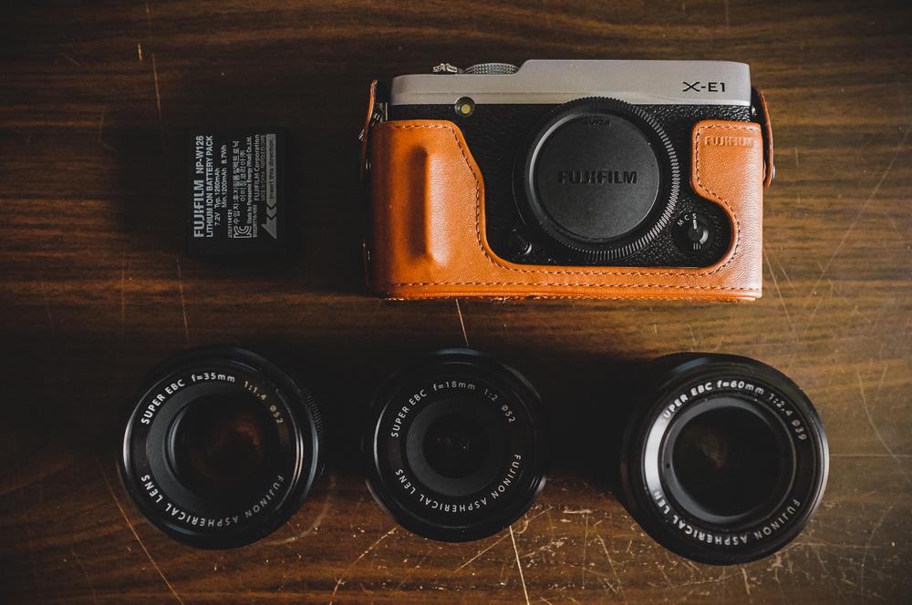 Fuji X-E1 | 18mm/2 | 35mm/1.4 | 60mm/2.4