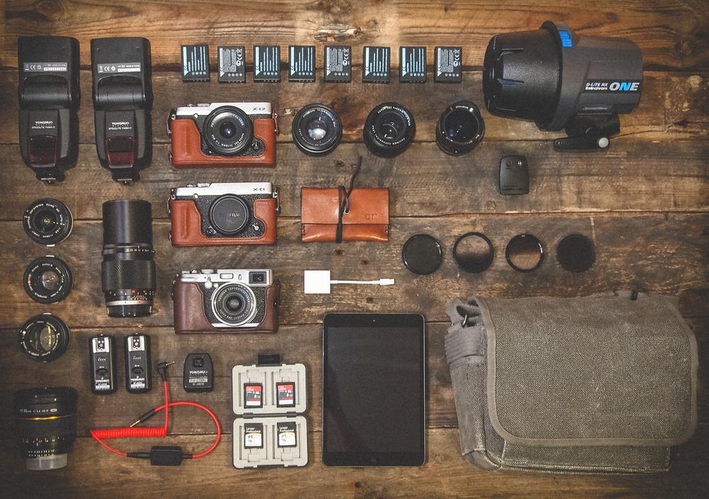 My Gear / Fuji X Series Cameras