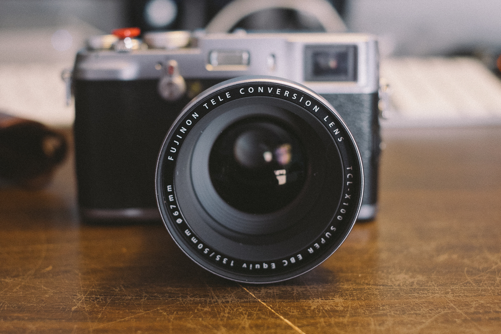 The Fuji X100 Tele Conversion Lens or 'TCL'