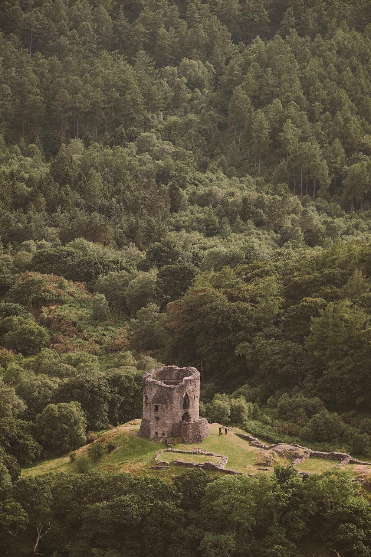 Castell Dolbadarn.  Fuji X-H1 + 50-140mm 2.8 Lens