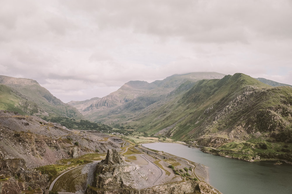 The Dinorwic slate quarry, overlooking Snowdonia.  Fuji X-H1 + 23mm 1.4 Lens