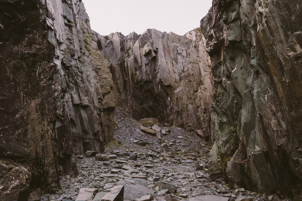 The Dinorwic slate quarry.  Fuji X-H1 + 16mm 1.4 Lens