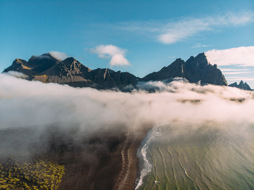 The Vestrahorn  [64.2586105,-15.0942715]  DJI Mavic Air Drone