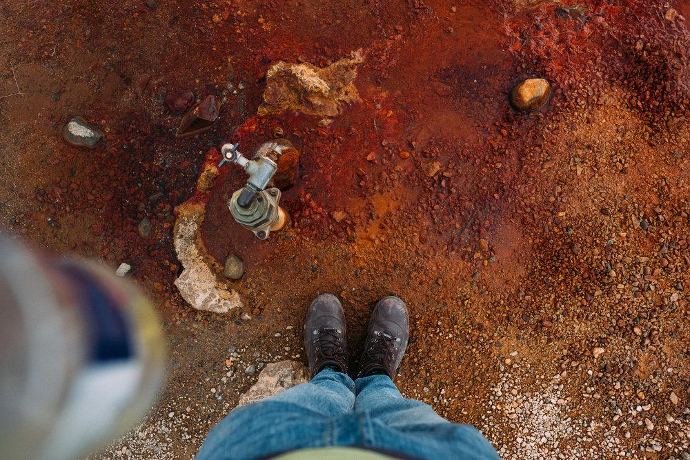Ölkelduvatn Mineral Spring  [64.8566299,-23.3745051]  Fuji X-H1 + 16mm 1.4 lens