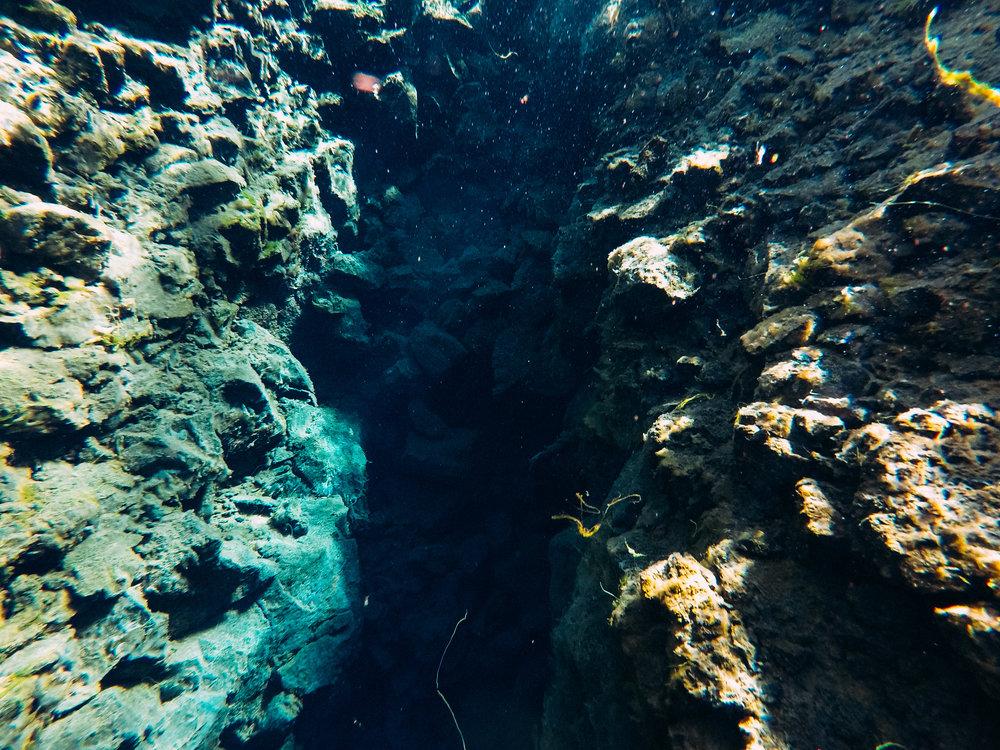 Silfra Diving  [64.4316607,-21.6143227]  GoPro Here 5 Black