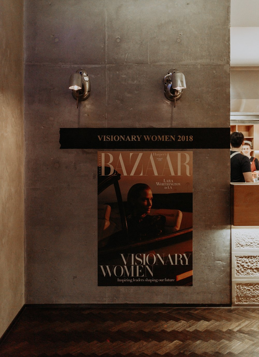 Harper's Bazaar - Visionary Women - Old Clare Hotel, Sydney