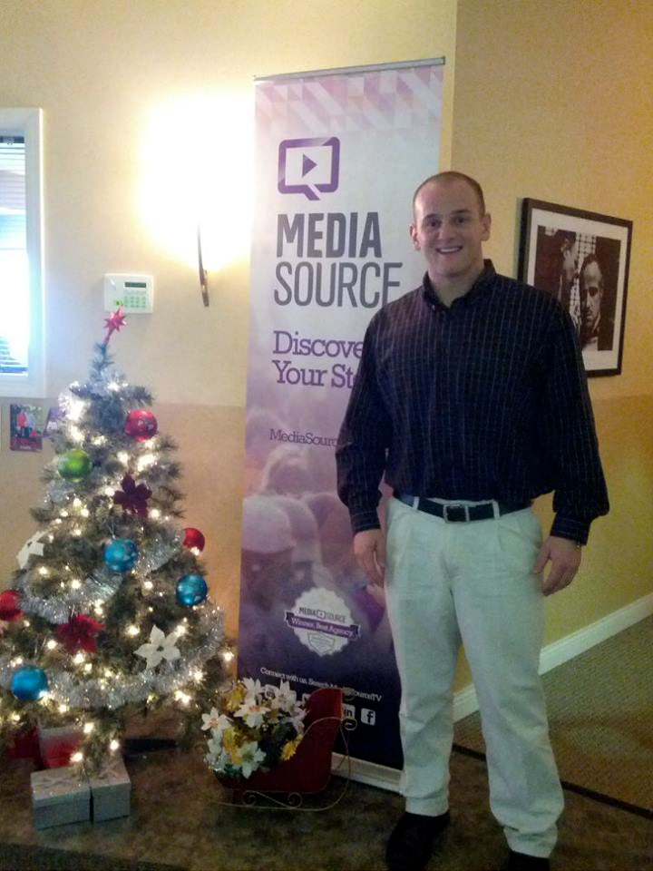 Our newest media relations intern Austin Butler.
