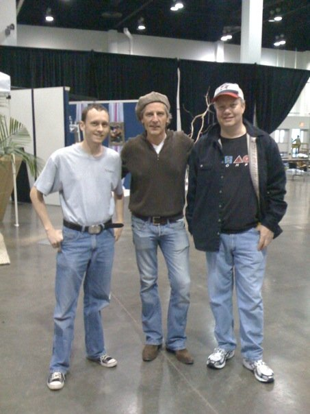 """The day after Dining by Design: Chris Mead, Doug Wilson from TLC's show """"Trading Spaces"""" and our Content Technology Manager Robert Leitch!"""